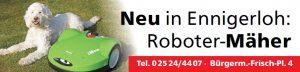 Roboter Rasenmäher